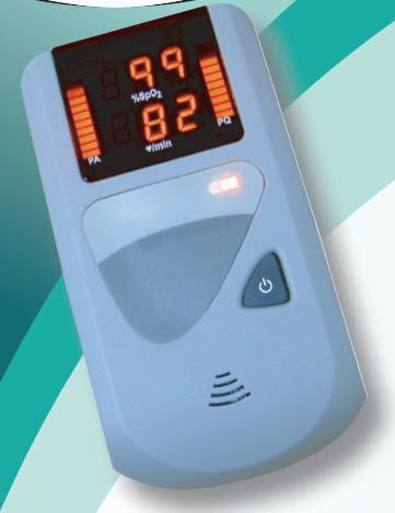 Pulse oximeter with separate sensor / handheld 0-100 % SpO2 | MODEL 30 / 30B Mediaid Inc.