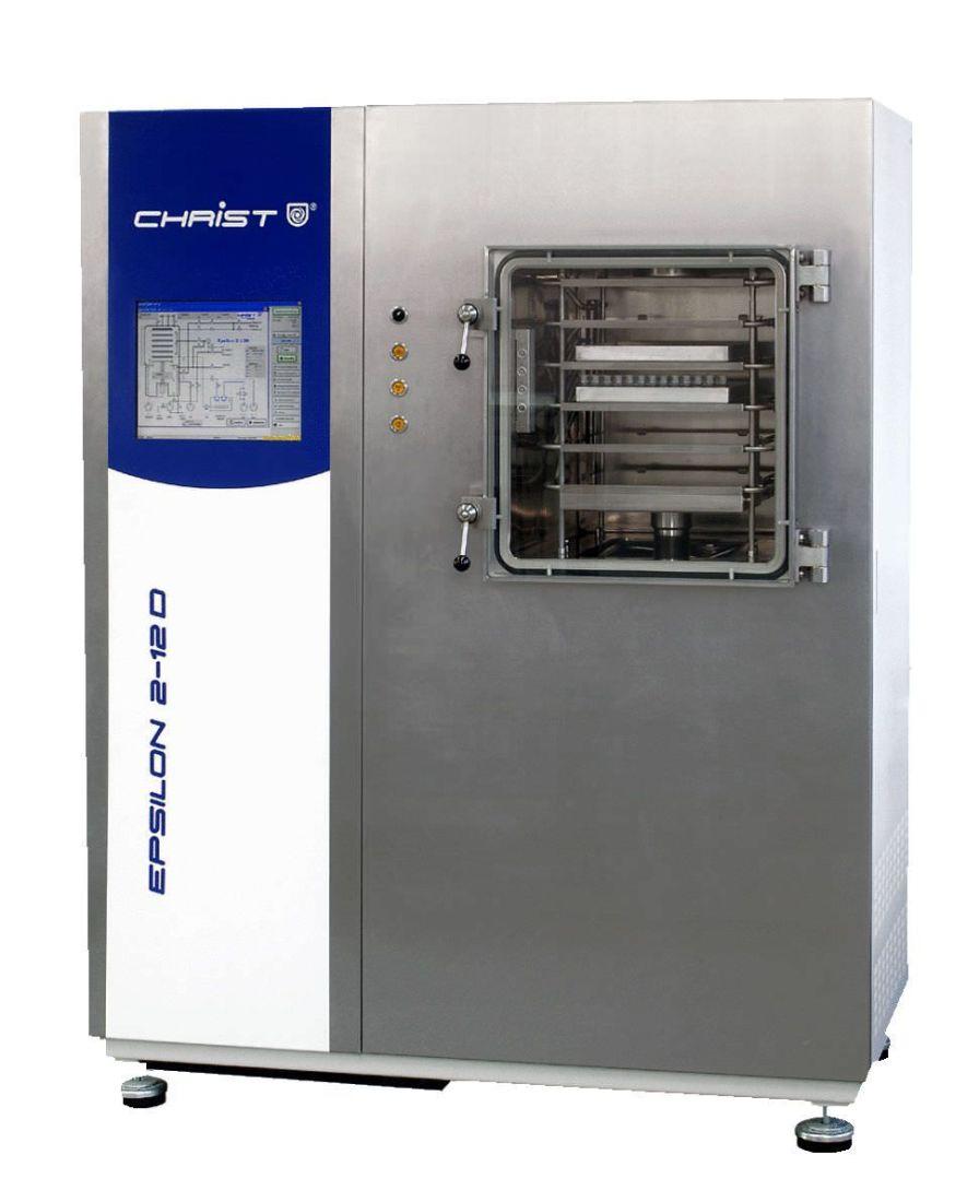 Freeze dryer laboratory 12 kg/24 h, -80 °C | Epsilon 2-12D LSCplus Martin Christ Gefriertrocknungsanlagen GmbH