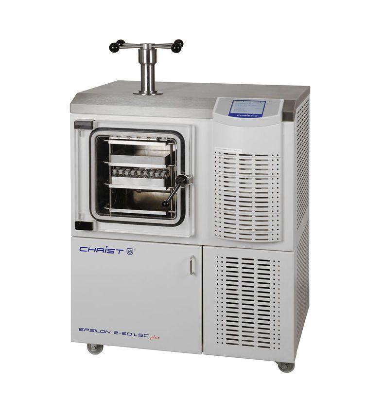 Freeze dryer laboratory 4 kg/24 h, -85 °C | Epsilon 2-6D LSCplus Martin Christ Gefriertrocknungsanlagen GmbH