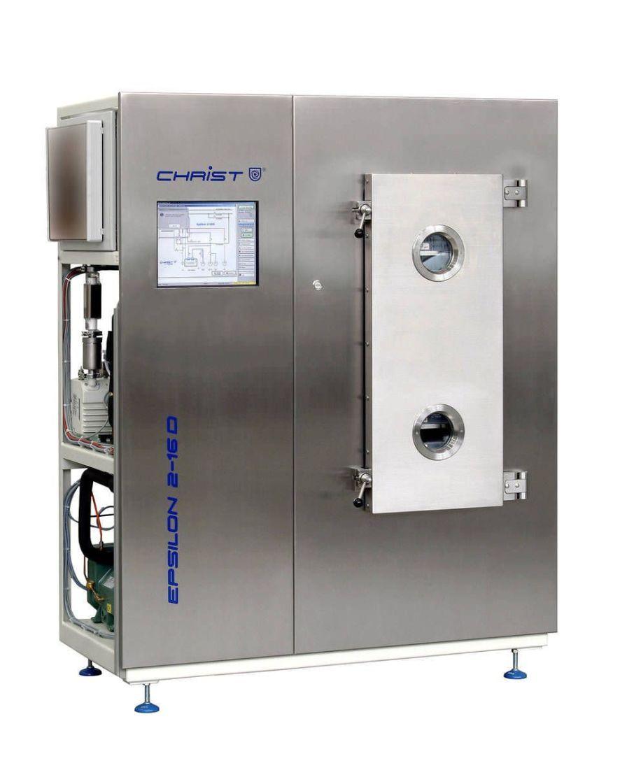 Freeze dryer laboratory 16 kg/24 h, -85 °C | Epsilon 2-16D LSCplus Martin Christ Gefriertrocknungsanlagen GmbH
