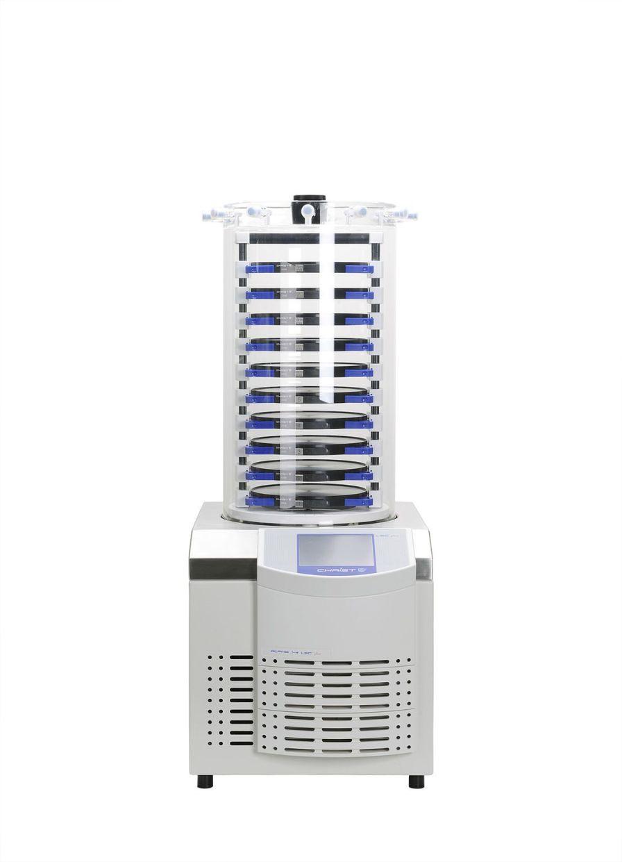 Freeze dryer laboratory / bench-top 4 kg/24 h, -55 °C | Alpha 1-4 LSCplus Martin Christ Gefriertrocknungsanlagen GmbH