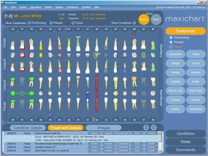 Management software / medical / dentist office MaxiChart™ Maxident