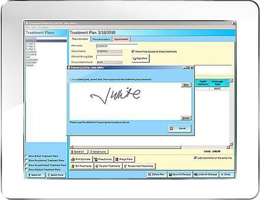 Capture software / medical / dentist office MaxiSign™ Maxident
