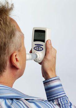 Carbon monoxide monitor exhaled CO Check Pro MD Diagnostics