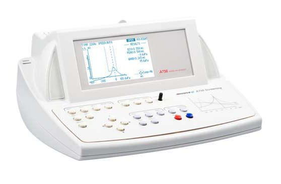 Screening tympanometer (audiometry) / reflex tester / digital RESONANCE® A756 SCREENING M.R.S.