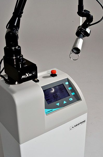 Surgical laser / CO2 / on trolley MIXTO SLIM E30 Lasering