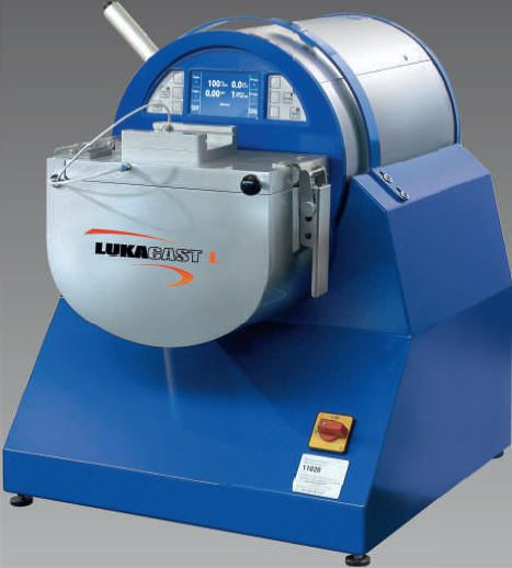 Vacuum dental laboratory casting machine / induction LUKACAST L LUKADENT GmbH
