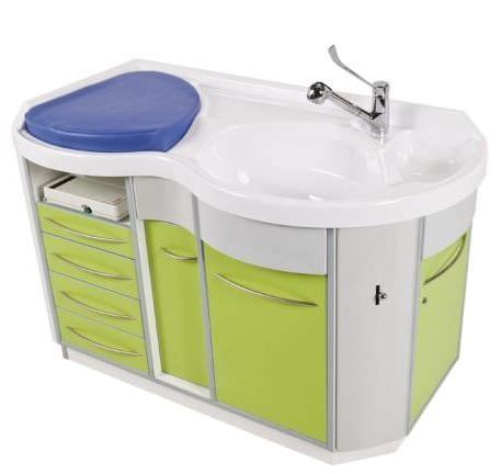 Changing table / with bath Omegamat Loxos