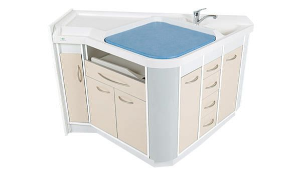 Changing table / with sink Néolange Loxos