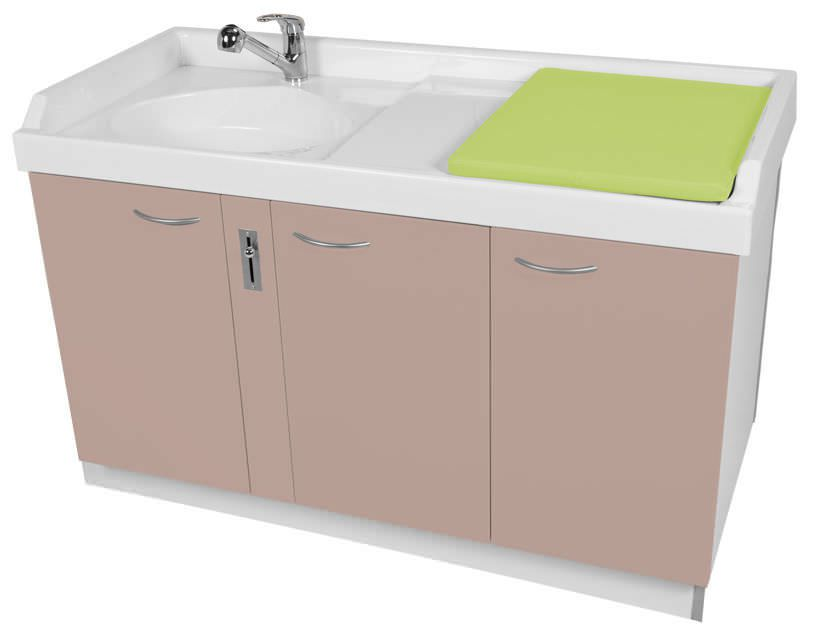 Changing table / with bath Standard 145 Loxos