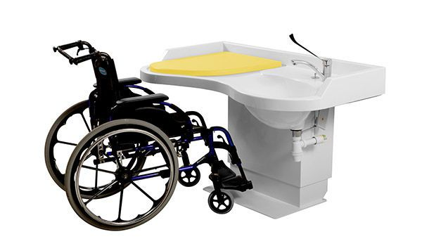 Changing table / with sink / with bath Mobilmat Loxos