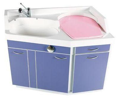 Changing table / with bath Pediabain Loxos
