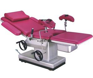 Gynecological examination table / hydraulic / height-adjustable DH-C102D-01 Kanghui Technology