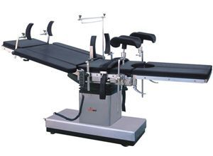 Hydro-electric surgery table / on casters / height-adjustable / eccentric column DH-S103A-1 Kanghui Technology