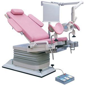 Gynecological examination chair / hydraulic / height-adjustable / 2-section DH-S104A Kanghui Technology