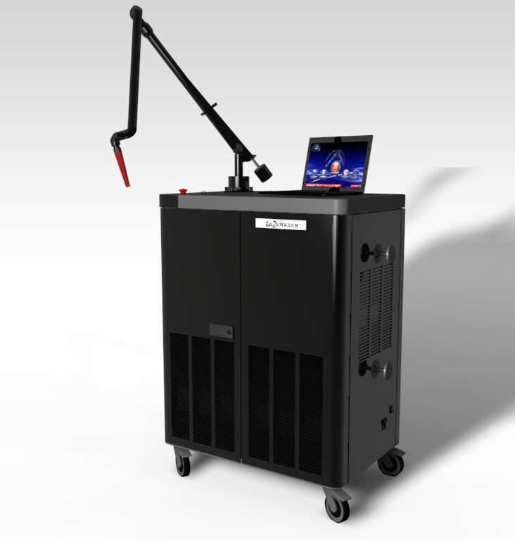 Dermatological laser / alexandrite / on trolley Ta2Eraser™ LightAge