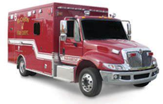 Emergency medical ambulance / type III / type I / box Brigadier Marque Ambulance