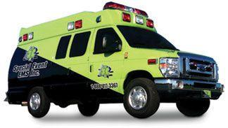 Emergency medical ambulance / type II / van Squad 2 Marque Ambulance