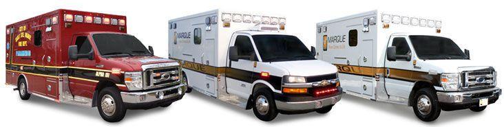 Emergency medical ambulance / type III / type I / box Commando Marque Ambulance