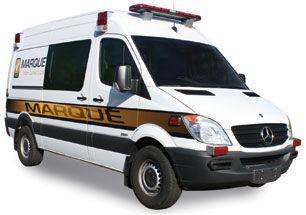 Emergency medical ambulance / type II / van Sprinter Marque Ambulance