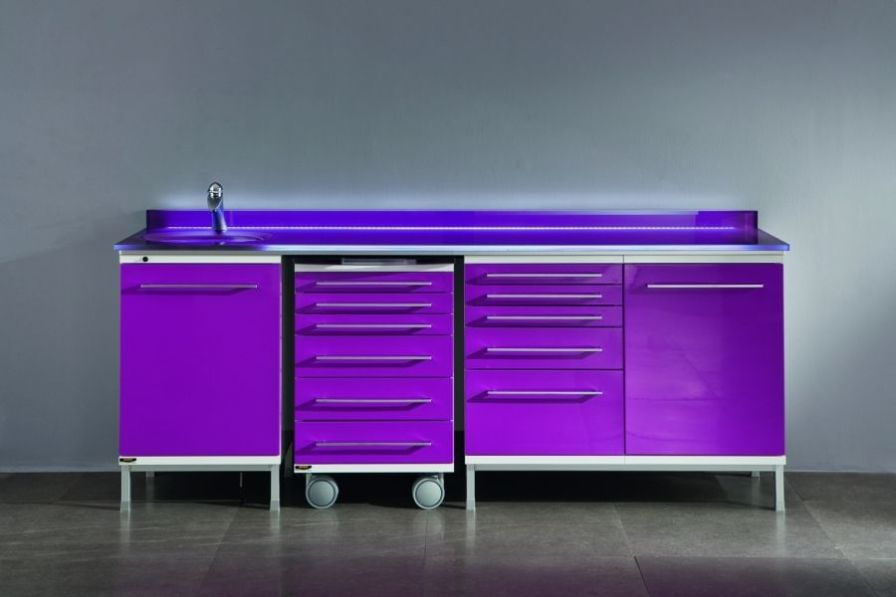 Medical cabinet / dentist office / with sink Anthea Series Iride International