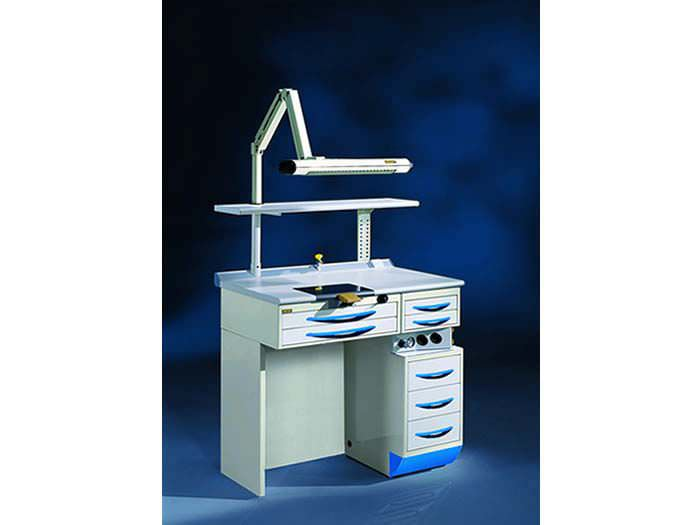 Dental laboratory workstation / 2-station AMBER Iride International