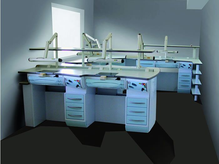 Dental laboratory workstation / 2-station ELITE Series Iride International