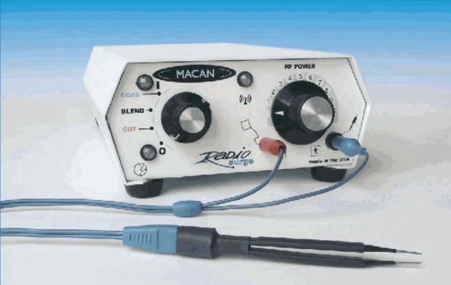 Dental electrosurgical unit RADIOSURGE - MC-6A MACAN