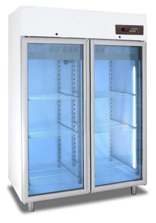 Laboratory freezer / cabinet / 2-door LFG series IKS International