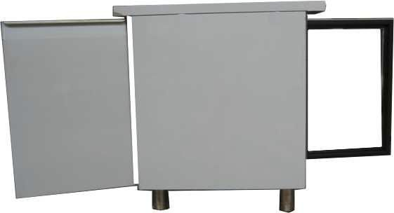 Cooling laboratory incubator / pass-through / stainless steel 130 - 625 l   IKS PT series IKS International