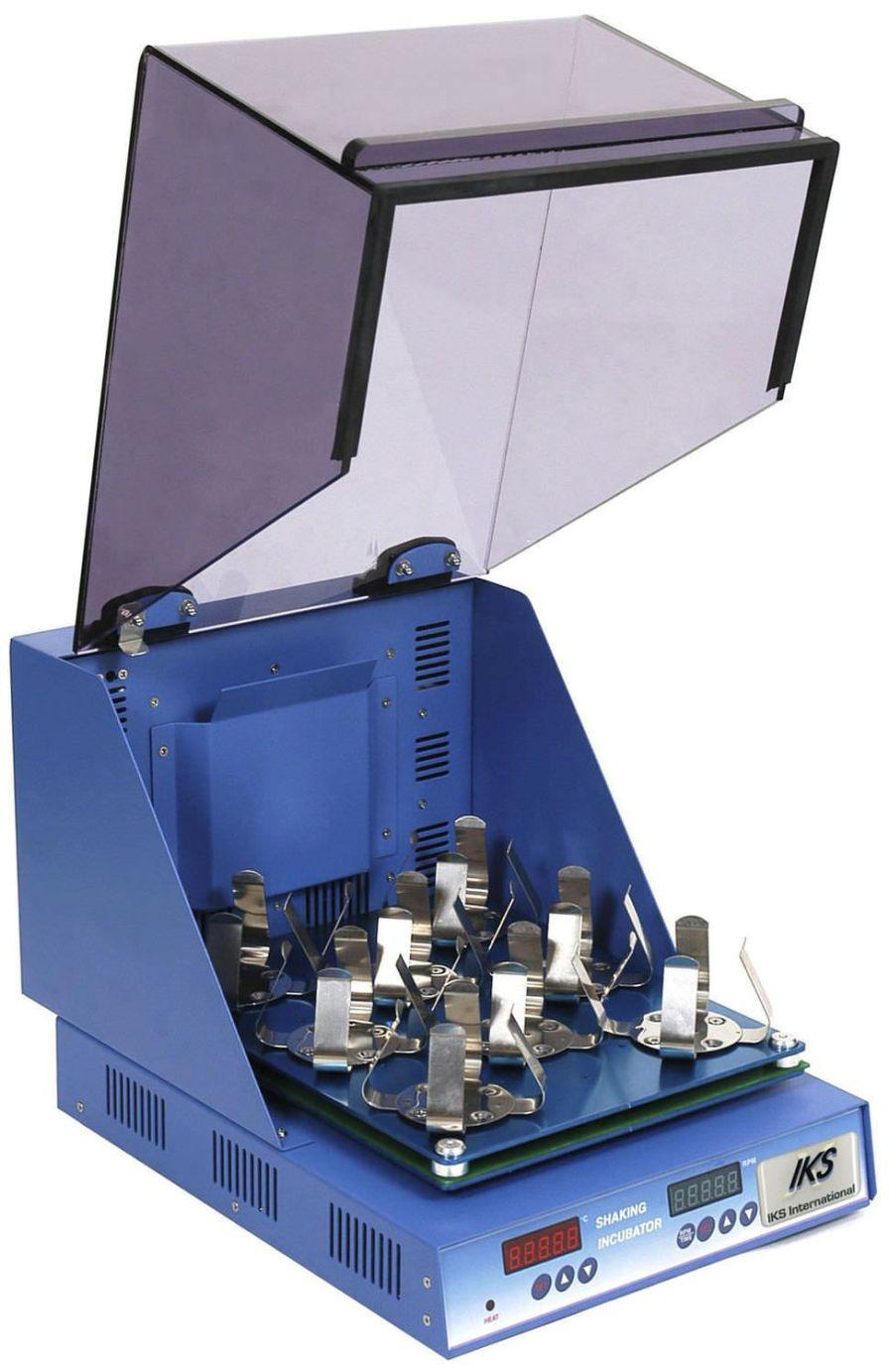 Bench-top laboratory incubator shaker IKS IKS International