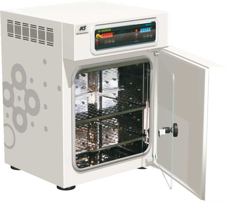 CO2 laboratory incubator / O2 / cooling / heating INB-203, INB 203C IKS International