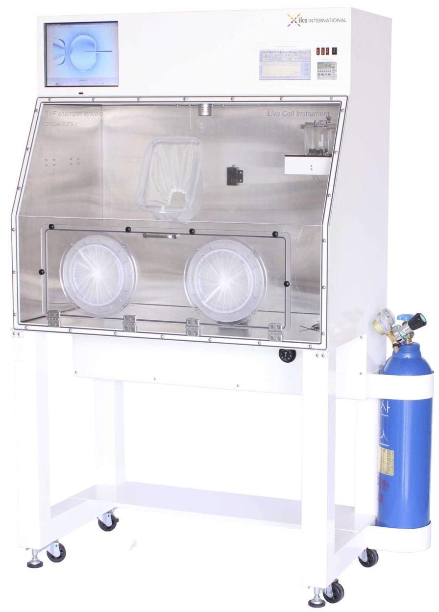 Environmental simulation chamber laboratory FS-1 IKS International