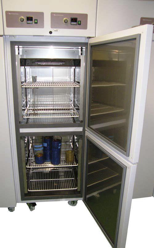 Laboratory refrigerator-freezer / upright / 2-door IKS series IKS International
