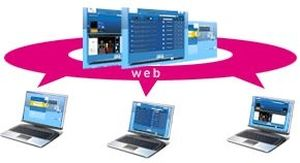 Sharing web application / acquisition / diagnostic / viewing Instant Access KEOSYS