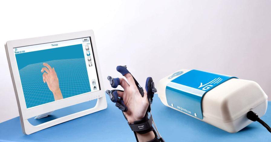 Hand rehabilitation system / computer-based GLOREHA LITE Idrogenet