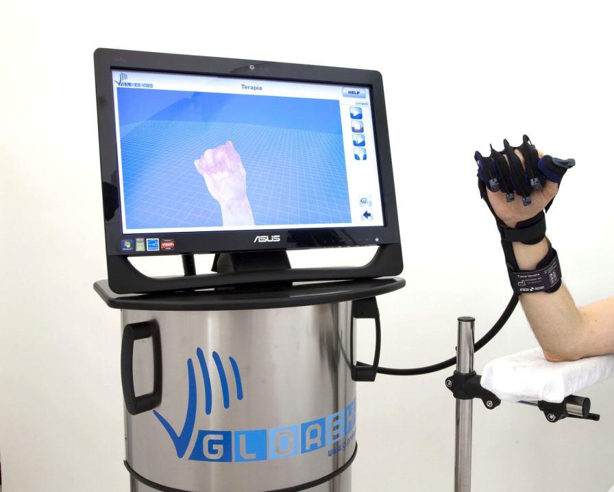 Hand rehabilitation system / computer-based GLOREHA PROFESSIONAL Idrogenet