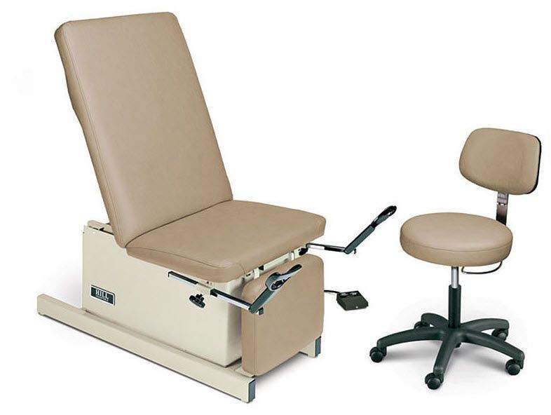 Gynecological examination table / electrical / height-adjustable / 3-section Hill HA90E Hill Laboratories