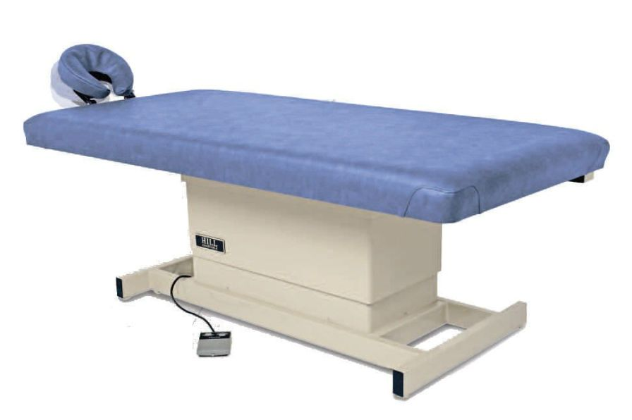Electrical massage table / height-adjustable / 1 section Hill Laboratories