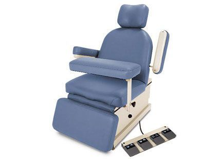 Phlebotomy examination chair / electrical / 3-section Hill 90PH Hill Laboratories