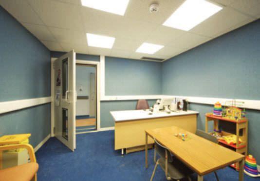 Audiometry room iac Acoustics