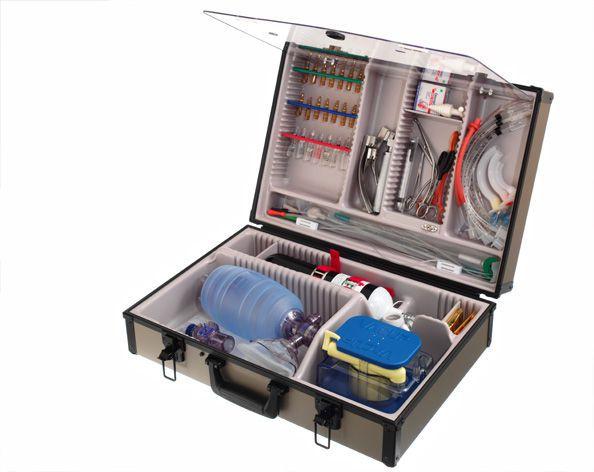 Cardiopulmonary resuscitation medical kit / intubation Oxivac R-3000 HERSILL