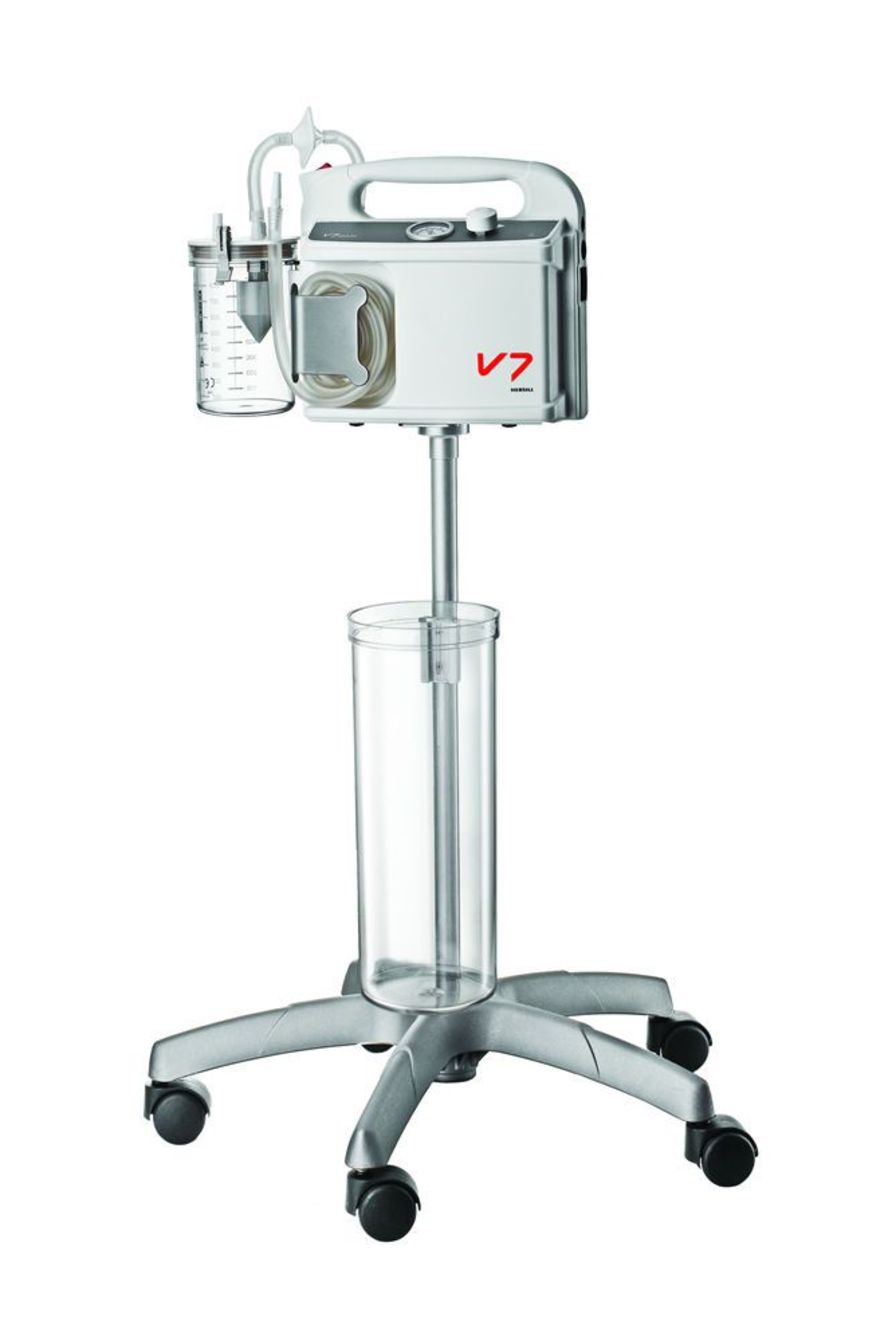 Surgical suction trolley V7 HERSILL