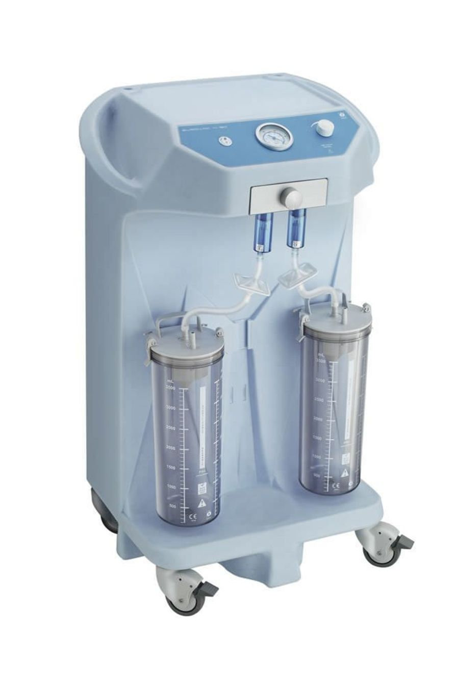 Electric surgical suction pump / on casters Eurovac H-90 HERSILL