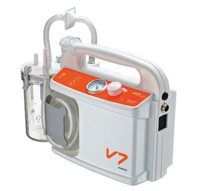 Electric surgical suction pump / handheld 14 - 30 L/mn | V7 HERSILL