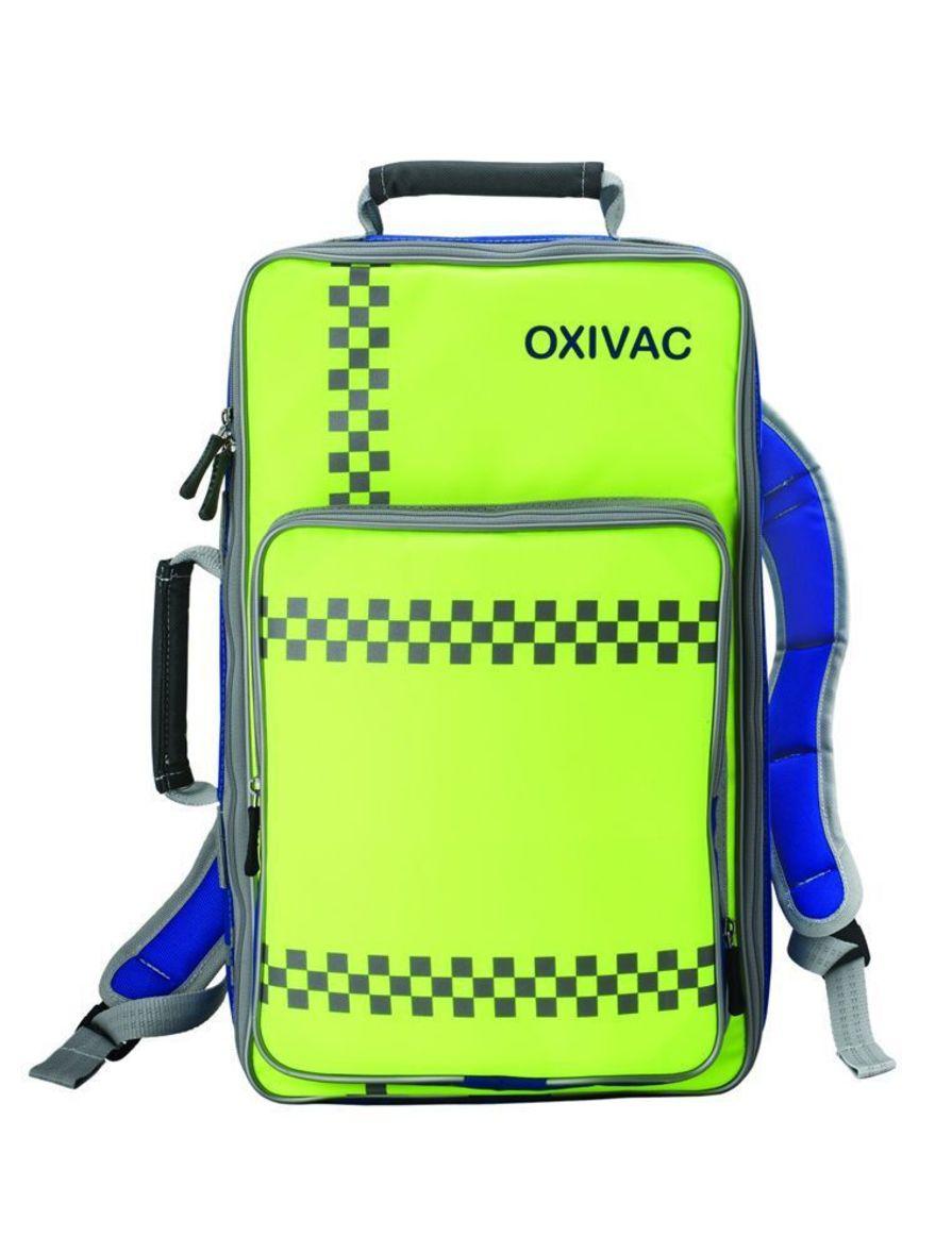 Emergency medical bag / back / shoulder-belt Oxivac Saver HERSILL
