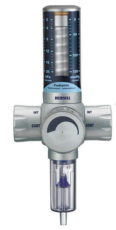 Vacuum regulator / plug-in type / continuous / intermittent / pediatric Vacusill 3 HERSILL