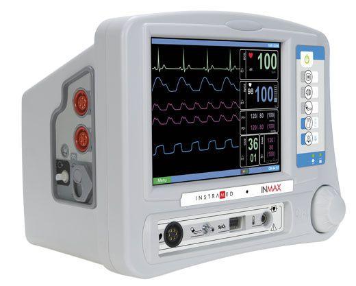 Compact multi-parameter monitor INMAX Instramed Indústria Médico Hospitalar