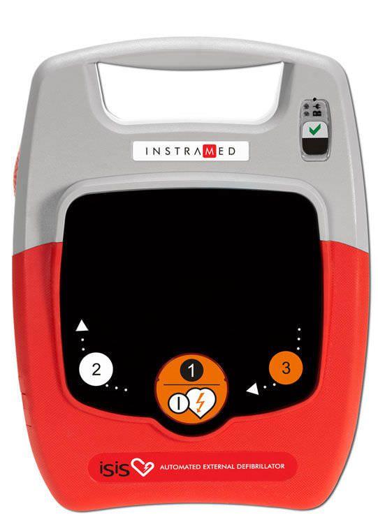 Automatic external defibrillator 200 J   ISIS Instramed Indústria Médico Hospitalar