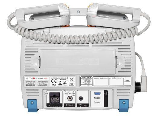 Semi-automatic external defibrillator / compact multi-parameter monitor 360 J   CARDIOMAX Instramed Indústria Médico Hospitalar